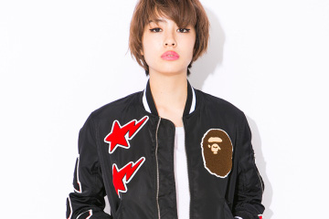 A Bathing Ape Ladies 2015 Spring/Summer Lookbook