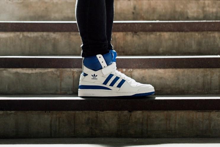 A Closer Look at the adidas Originals Forum Hi OG White
