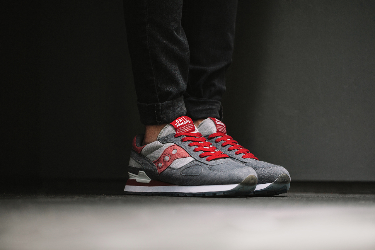 """A Closer Look at the BAIT x Saucony Shadow Original CruelWorld 4 """"Midnight Mission"""""""