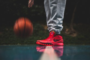 """A Closer Look at the Nike Kyrie 1 """"Deceptive Red"""""""