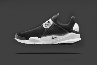 "A First Look at the fragment design x Nike Sock Dart ""Black"""