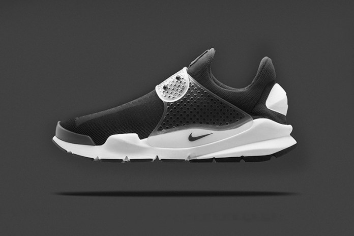 """A First Look at the fragment design x Nike Sock Dart """"Black"""""""