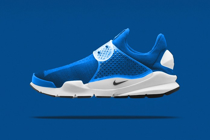 """A First Look at the fragment design x Nike Sock Dart """"Photo Blue"""""""