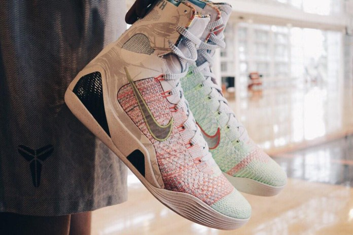 "A First Look at the Nike Kobe 9 Elite ""What The"""