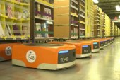 A Look at How Amazon Uses Robots to Process Your Order