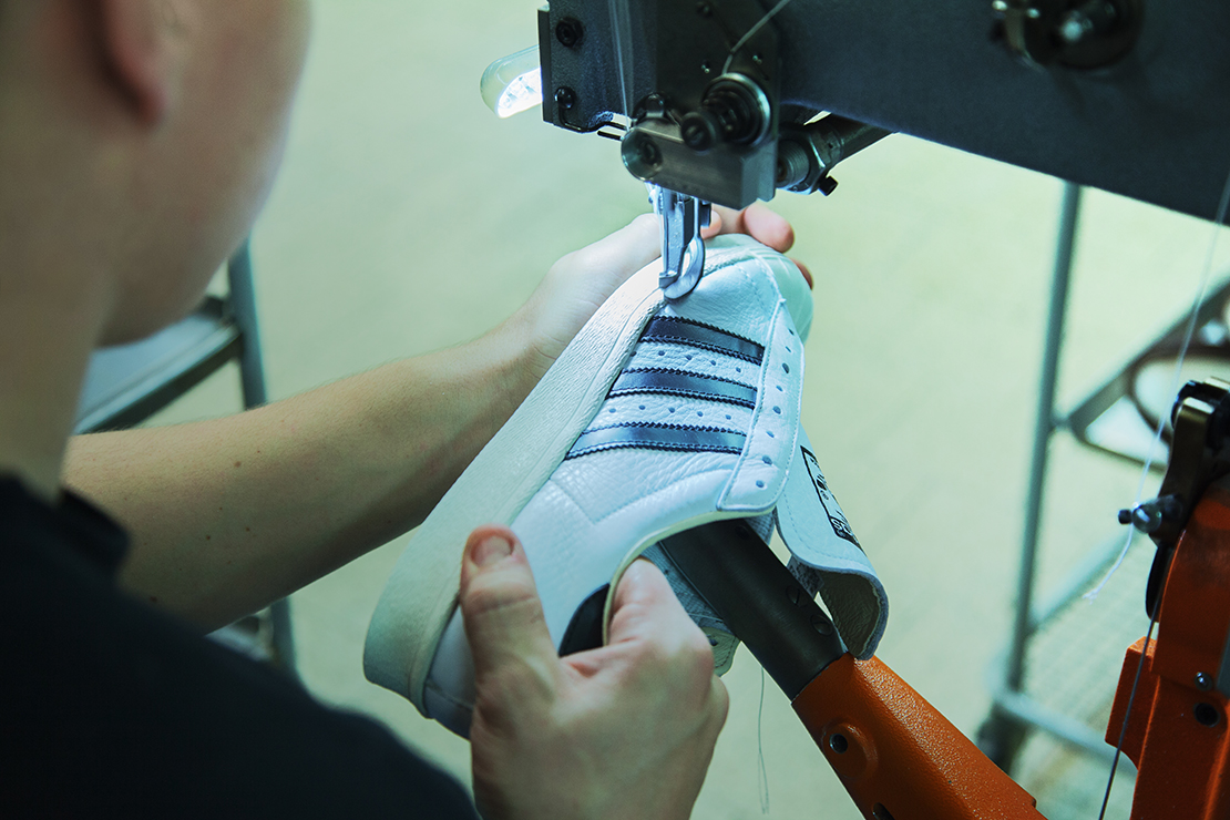 A Look at the Manufacturing Process Behind the French-Made adidas Consortium Superstar