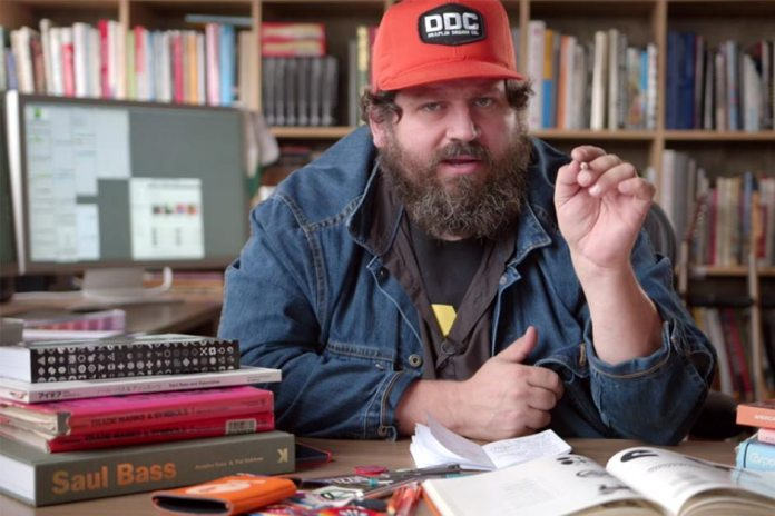 Aaron Draplin Shows How to Conceptualize and Create a Logo in 15 Minutes