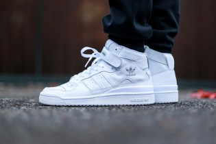 "adidas Originals Forum Mid ""Triple White"""