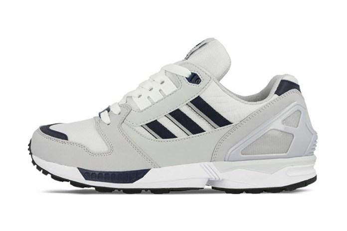 adidas Originals ZX 8000 Running White/Collegiate Navy