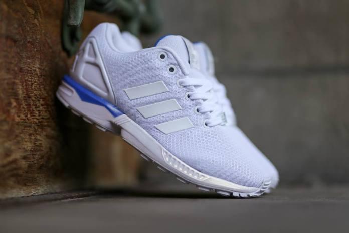 adidas Originals ZX Flux White/White/Bluebird