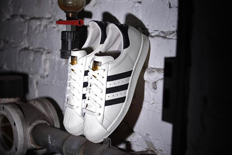 adidas Superstar 80s Deluxe OG Vintage White/Black