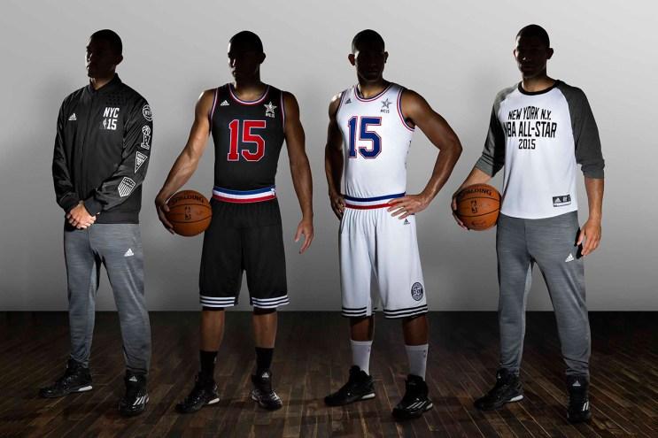 adidas Unveils the 2015 NBA All-Star Uniforms