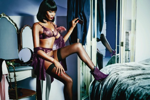Agent Provocateur 2015 Spring/Summer Campaign featuring Naomi Campbell