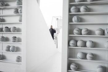 "Alchemist x Snarkitecture ""Airball"" Installation @ Art Basel"