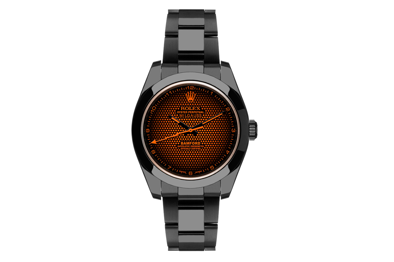 Bamford Watch Department Rolex Milgauss Aftershock
