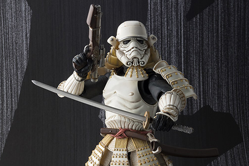 "Bandai Samurai Stormtrooper Collectible Action Figure ""Ashigaru Stormtrooper"""