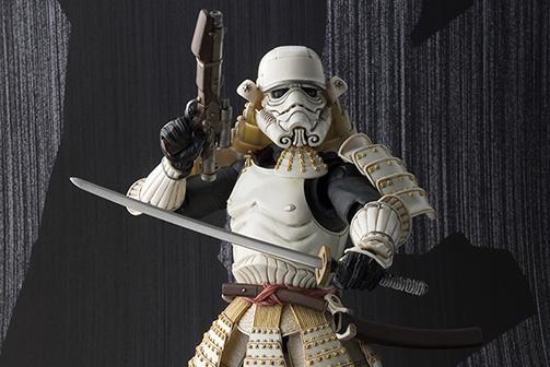 "Bandai Samurai Stormtrooper Collectible Action Figure ""Ashigaru Stormtrooper"""