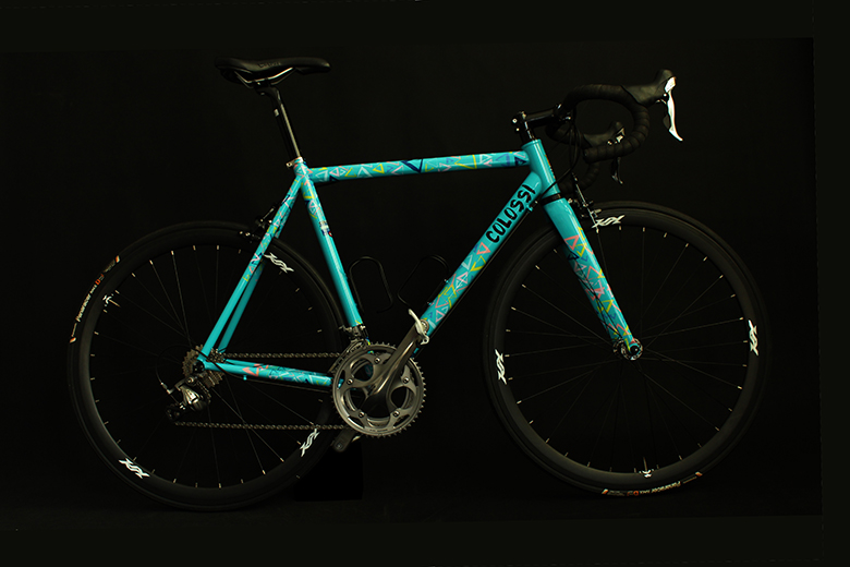 """Colossi Cycling """"Delight"""" Steel Road Bicycle Frame"""