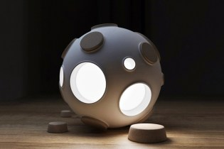 """Armstrong Light Trap"" Lamp by Constantin Bolimond"
