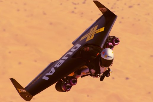 Flying with Incredible Real-Life Jetpacks in Dubai