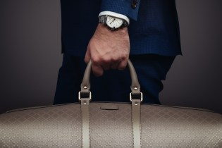 Gucci Presents the G-Chrono Collection and Bright Diamante Leather Duffle