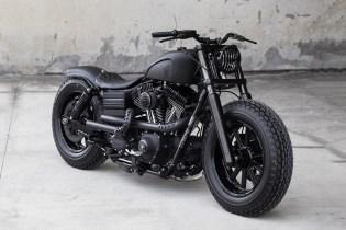 "Harley Davidson 2009 Fat Bob ""Dyna Guerilla"" by Rough Crafts"