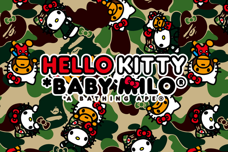 Hello Kitty x A Bathing Ape 2014 Capsule Collection