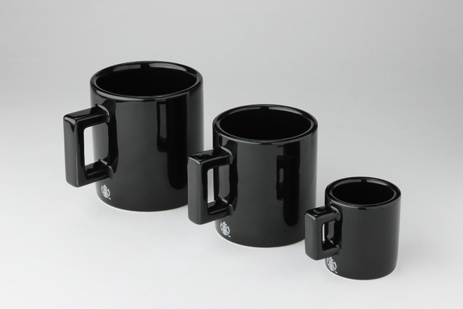fragment design x Starbucks Limited Edition Black Coffee Mugs