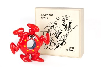 "Horfee x Case Studyo ""Willy the Wheel"" Sculpture"