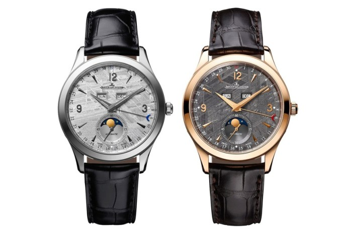 Jaeger-LeCoultre Master Calendar with Meteorite Stone Dial