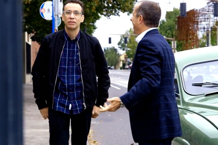 Jerry Seinfeld's Comedians in Cars Getting Coffee with Fred Armisen