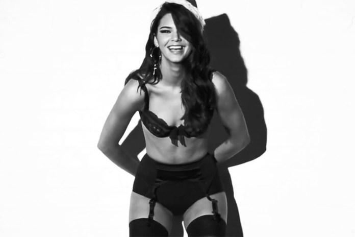 Kendall Jenner for LOVE's 2014 Video Advent Calendar
