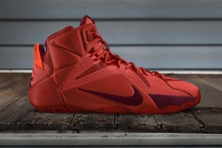 LeBron 12 NIKE iD Released in 12 Custom Colors: Tribute to Ohio Heroes
