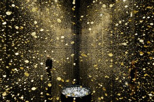 """""""LIGHT IS TIME"""" Installation is Composed of 80,000 Watch Parts"""