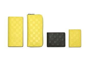 "Louis Vuitton 2014 Fall/Winter ""Damier Infini"" Accessories"