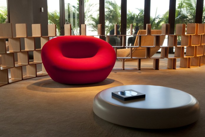 Louis Vuitton Creates Furniture Concepts from Pierre Paulin and Herman Miller