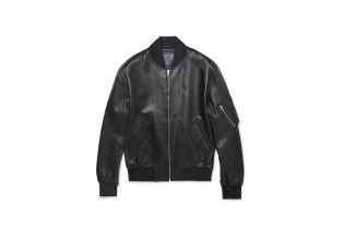 McQ by Alexander McQueen 2014 Fall/Winter Leather Bomber Jacket