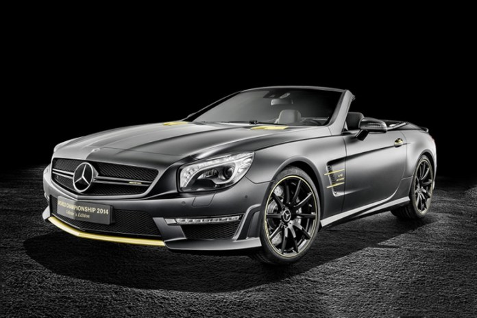 Mercedes-Benz SL 63 AMG World Championship 2014 Collector's Edition