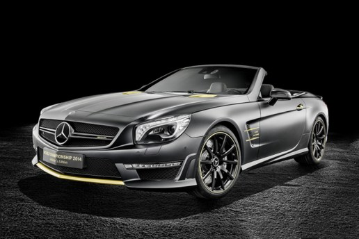 Mercedes-Benz SL 63 AMG World Championship 2014 Collector's Edition