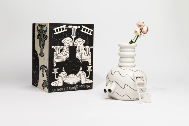"Mike Perry x Case Studyo ""No Room for Flowers"" Vase"