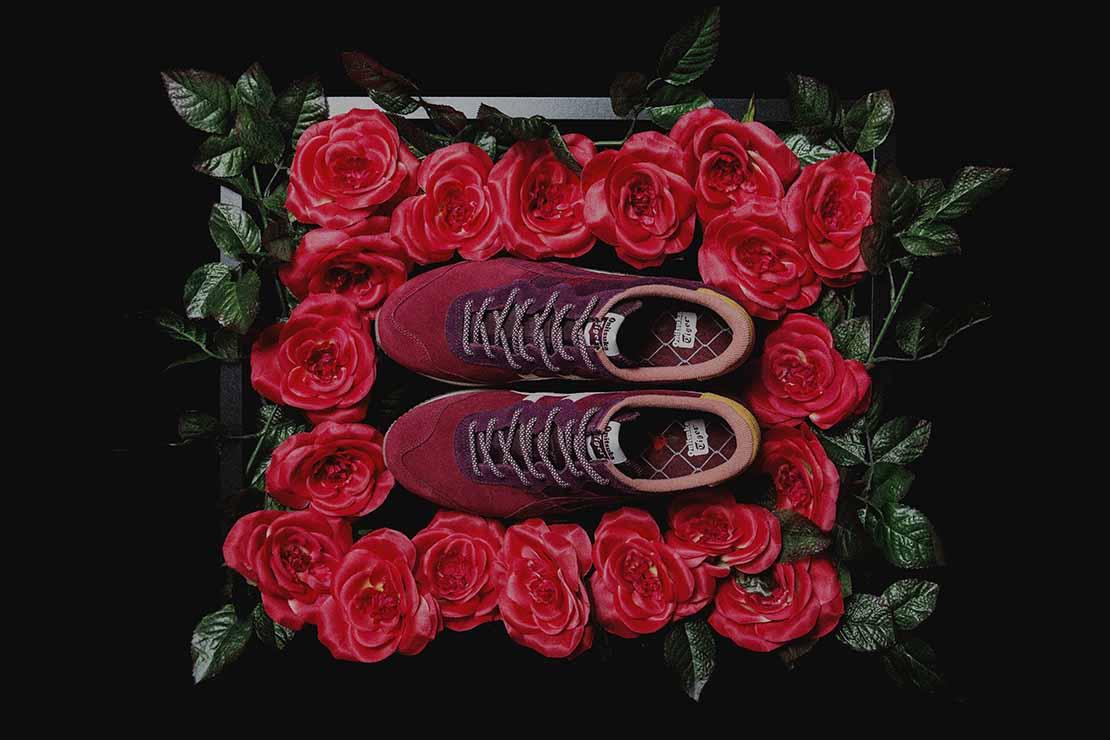 "mita sneakers x Onitsuka Tiger X-Caliber ""Dried Rose"""