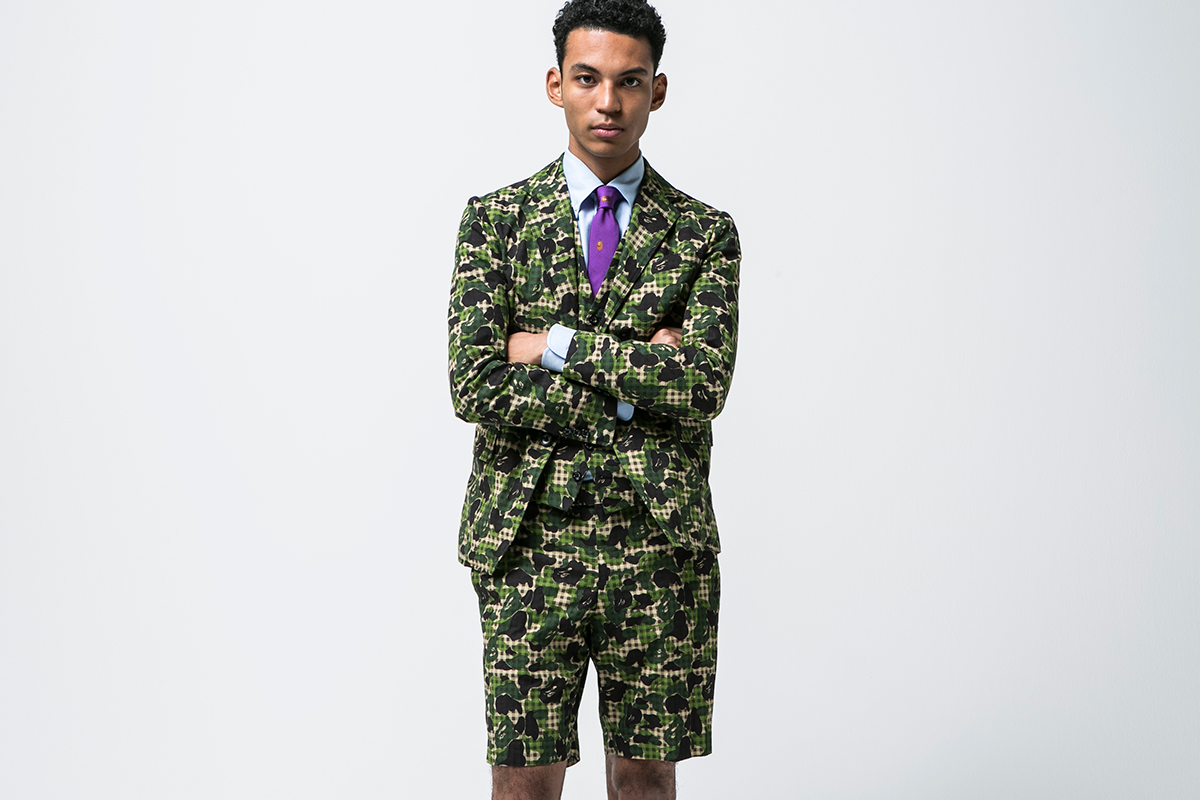 Mr.Bathing Ape 2015 Spring/Summer Lookbook