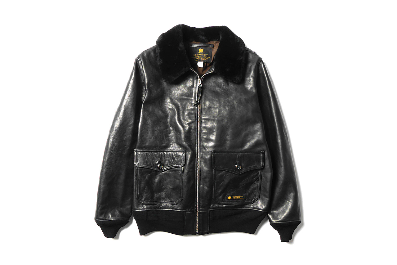 NEIGHBORHOOD 2014 Fall/Winter G-1 Flight Jacket