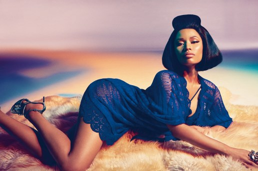 Nicki Minaj Named the Face of Roberto Cavalli's 2015 Spring/Summer Advertising Campaign