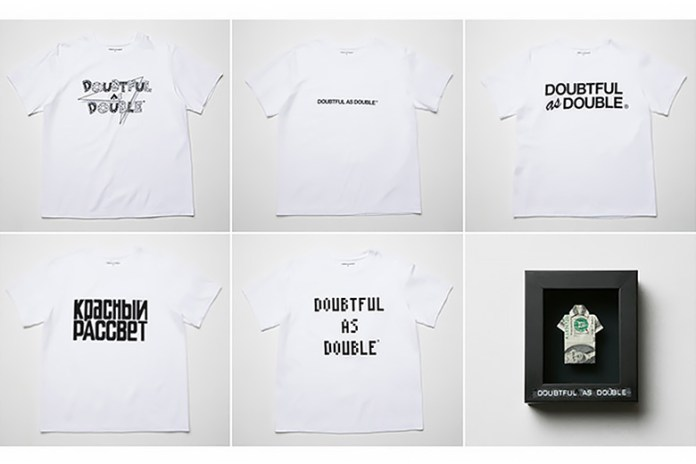 NIGO & Tetsu Nishiyama's DOUBTUL AS DOUBLE 2015 Spring/Summer Collection Exhibition