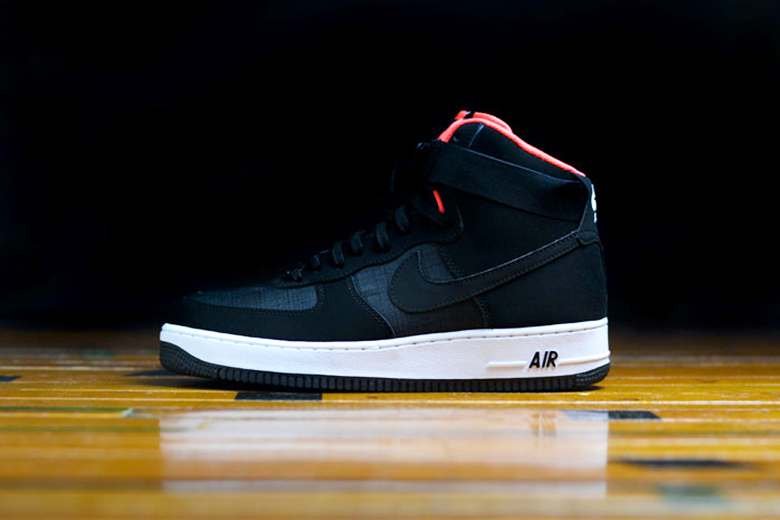 Nike Air Force 1 High '07 Black/Crimson