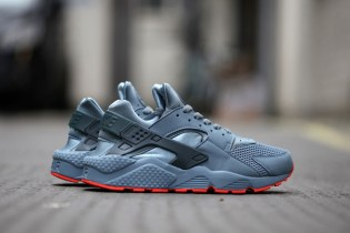 "Nike Air Huarache Run FB ""Graphite"""