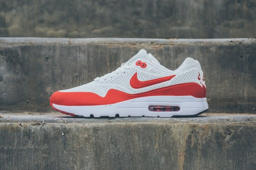 Nike Air Max 1 Ultra Moire White/Challenge Red