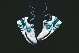Nike Air Stab White/Emerald Green-Midnight Navy