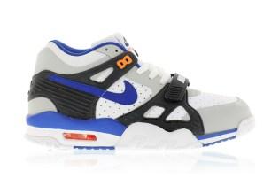 Nike Air Trainer 3 Pure Platinum/Lyn Blue-Black-Total Orange